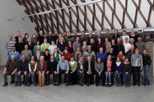 Mitarbeiter der Freilichtmuseen Glentleiten und Amerang