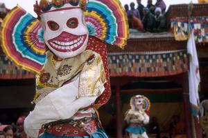 Maskentanz im Kloster Stok, Ladakh