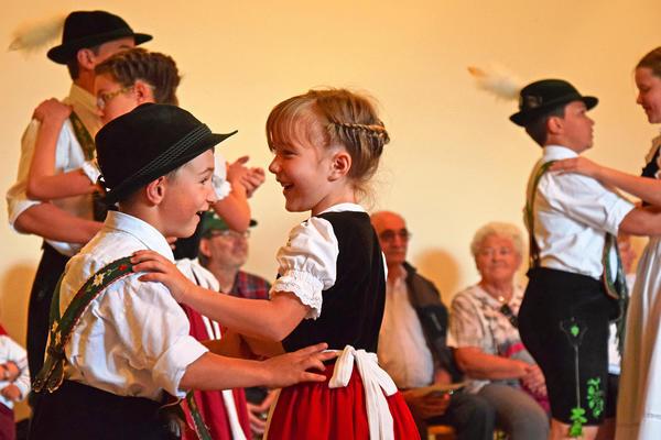Kinder-Tanzgruppe