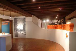 Ausstellungsräume im Eingangsgebäude