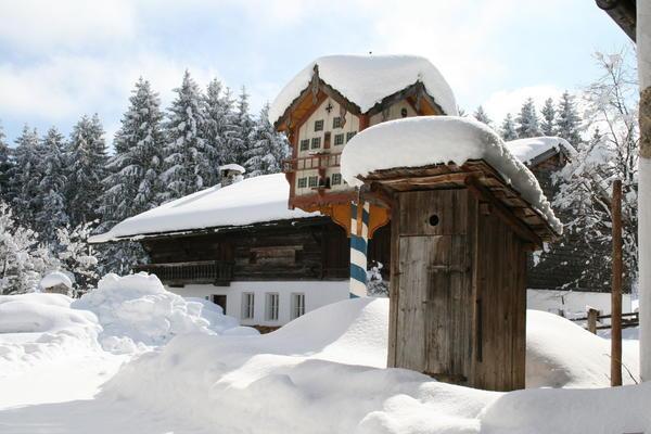 Winter im Freilichtmuseum Glentleiten