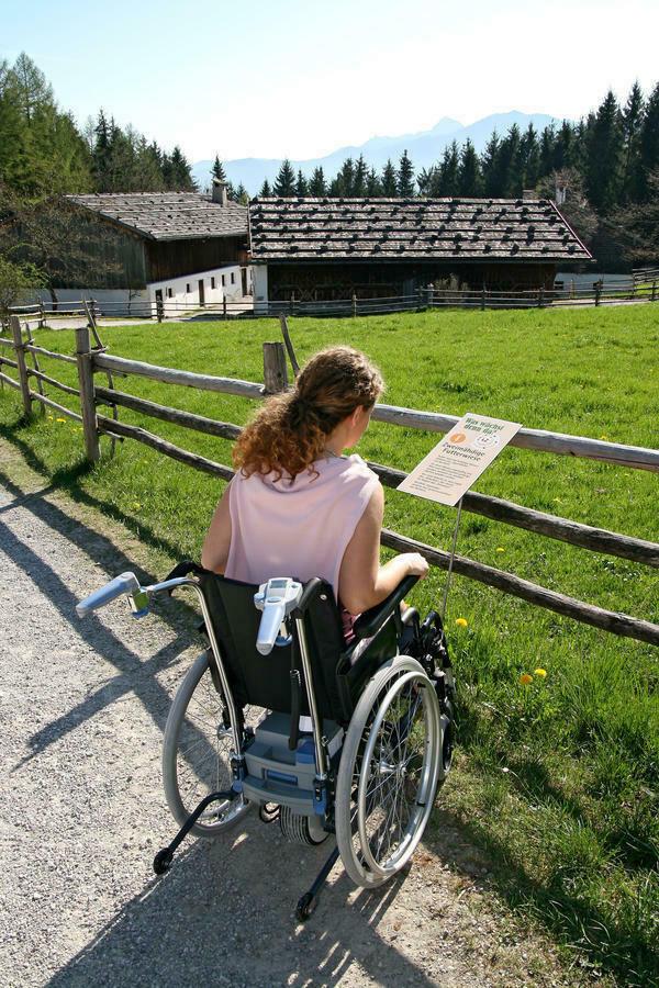 Mit dem Rollstuhl im Gelände